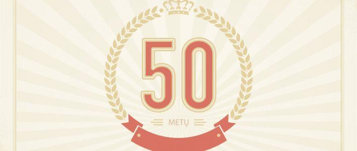 LTS 50 metų!