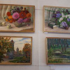 Viktorijos Skritulskaitės-Jurgutienės tapybos ant drobės paroda-pardavimas