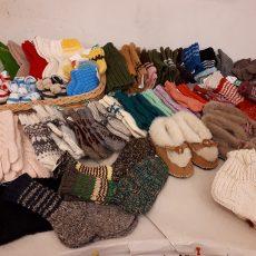 Pirštinių ir kojinių paroda – pardavimas