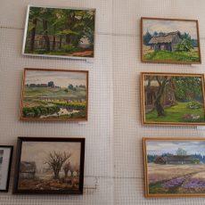 Viktorijos Jurgutienės darbų paroda-pardavimas